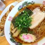 田島ラーメン - ラーメン+餃子のCセット(950円)