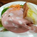 イル デリツィオーゾ - セットのサラダとパン