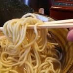 ラーメン 凌駕堂 - ストレート麺