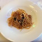 61829273 - トマトソーススパゲティ