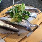 魚磯 - セグロ鰯