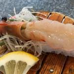 魚磯 - 地物ボタン海老