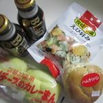 デイリーヤマザキ - 料理写真:この日のお買い物
