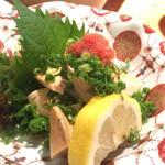 61834323 - あん肝ぽん酢(750円)
