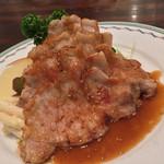 キッチン マカベ - キッチン マカベ(東京都世田谷区祖師谷)豚ロースの生姜焼き(ライス・みそ汁付)1280円