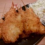 てんご - 串カツの海老、豚、うずら、 ささみ、竹輪チーズ