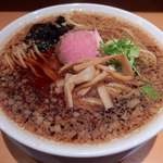 我武者羅 - 【期間限定】背脂生姜ラーメン(780円)