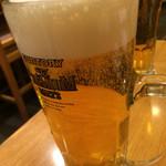 げんき鮨 - 生ビール