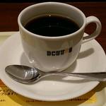 ドトールコーヒーショップ - ブレンドコーヒー(M)270円