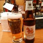 パッポンキッチン - タイ料理ならやっぱりシンハービール