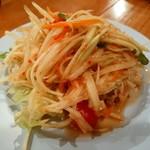 パッポンキッチン - 青パパイヤのサラダ(ソムタム)