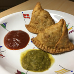 バンガロール - インド風揚げ餃子  〜サモサ〜