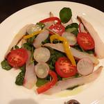 レストラン タイラ - トラフグのサラダ