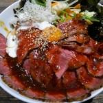 コウシヤバル - ローストビーフダブル丼
