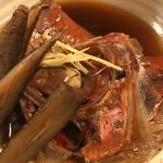 伊豆の味処 錦 - 金目鯛煮付け