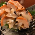 伊豆の味処 錦 - サザエお造り