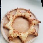 庭のパン屋さん - 「チーズのお星さま」180円