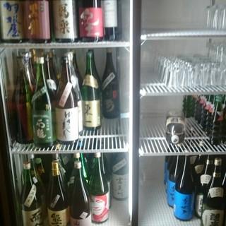 常時日本酒50種!⇒ほぼ500円で