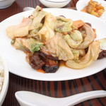 中国料理 桃花園 - 炒め物