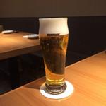 吟醸マグロ - 生ビール