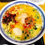 けやき - 鶏白湯ラーメン・辛(¥980)