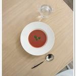 プティ・ポワ - セットのスープ