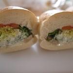 61849102 - 野菜パン + そぼろレンコン♡今のところNo,1!