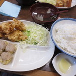一芳亭 - えび天定食