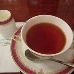 レストラン シマダ - セットの「紅茶」。
