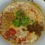自家製麺ほうきぼし - プレミアム豆乳担々麺
