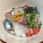 魚平 - 海鮮丼は こんなんです