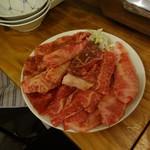 近江牛肉店 - 白皿