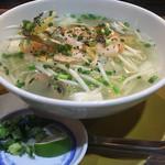 61852861 - たっぷり魚介と野菜のあっさりフォー                       2017/01/9訪問