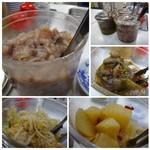 天ぷらのひらお - 「ひらお」と言えば「天ぷら」よりも人気かもしれない「イカの塩辛」などのお総菜。 食べ放題ですよ。