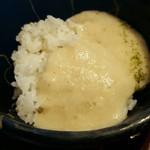 61856145 - 麦とろろご飯