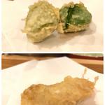 天ぷら料理 さくら - 生麩 と 真ソイ
