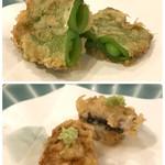 天ぷら料理 さくら - えんどう と はも
