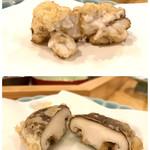 tempuraryourisakura - たち と椎茸