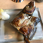 野鶴亭 - 朝食、鯵