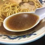 らーめんや天金 - スープ