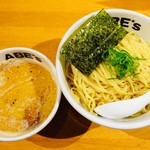 ラーメン ABE's - 濃厚つけ麺(大盛)