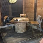 矢ノ目糀屋 糀屋カフェたんとKitchen - テーブル