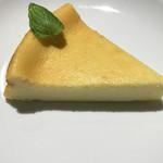シャンズカフェ - ベイクドチーズケーキ