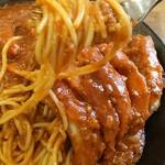 レストラン泉屋 - スパカツ(大盛り)