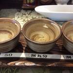 juuwarisobajirou - 獺祭3種飲み比べ 1500円