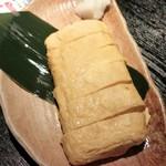 ももんが - お店で巻いた出し巻き玉子 349円+税