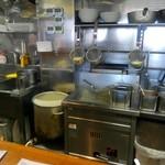 海坂屋 - 厨房