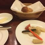 61867808 - ★6野菜のエチュベ &★9パン