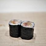 紀尾井町 三谷 - 赤貝のヒモ巻き