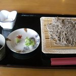 カフェ モンテローザ - カフェモンテローザ・ざるそば¥700